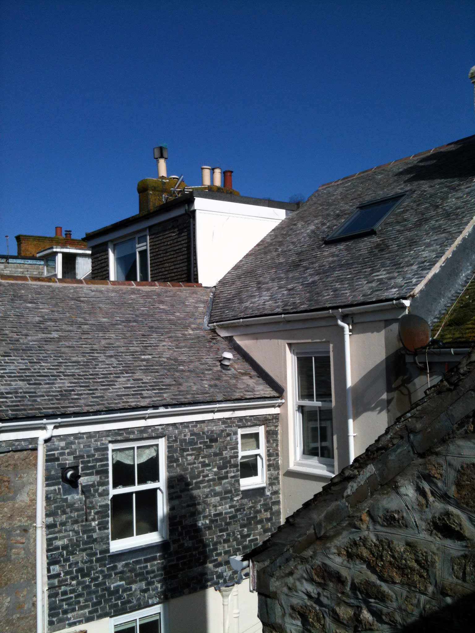 Conservation projects js roofing building ltd for 1 atlantic terrace st ives